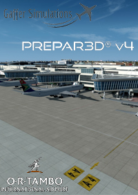 GAFFER SIMULATIONS - OR TAMBO INTERNATIONAL AIRPORT P3D4 - JOHANNESBURG